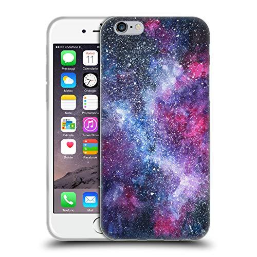Head Case Designs Licenza Ufficiale Anis Illustration Galassia Designs Assortiti Cover in Morbido Gel Compatibile con Apple iPhone 6 / iPhone 6s