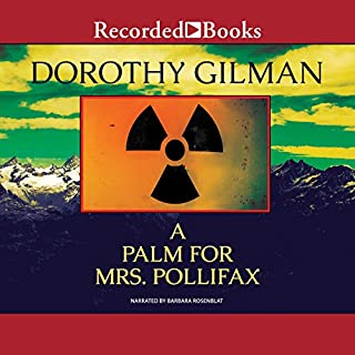 A Palm for Mrs. Pollifax audiobook cover art