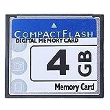 CKMSYUDG - Scheda di memoria flash compatta professionale da 4 GB, colore: Bianco e Blu