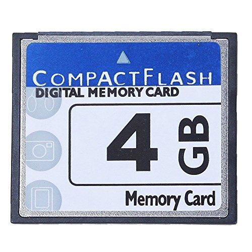 Yantan Scheda di memoria Flash professionale 4 Gb Compact (Whiteandblue)
