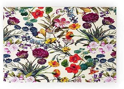 """Society6 Burcu Korkmazyurek Magical Garden V Welcome Mat, 30""""x20"""", Multi"""