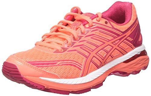 Asics GT 2000-5, Zapatillas de Running para Mujer, Naranja (Flash Coral/Coral Pink/Bright...