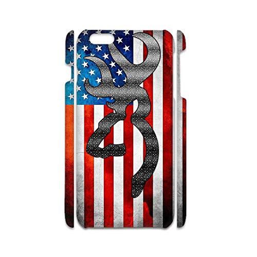 Impresión Browning 3 Compatible En iPhone 5 Ip5S Se Resistencia A La Caída Cajas De Teléfono Pc Niña Choose Design 106-1