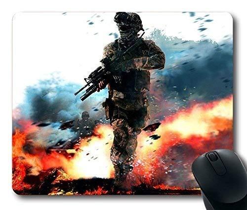(Advanced Lock Edge) Call of Duty Modern Warfare Soldado Militar Acción de Pistola de Fuego Neopreno Antideslizante Estándar de Goma