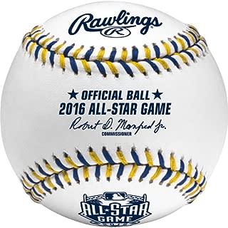 Rawlings Sporting Goods ASBB16-R MLB Offical 2016 All Star Game Baseball