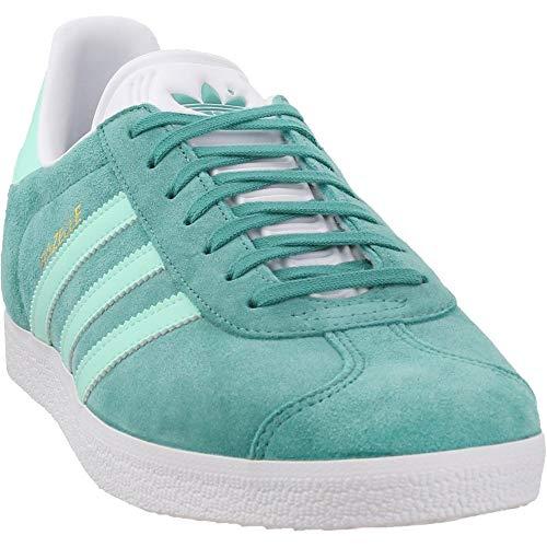 adidas Mens Gazelle Casual Sneakers, Green, 11.5