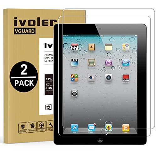 ivoler [2 Unidades] Protector de Pantalla para iPad 2/3 / 4 9.7...
