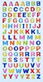 Creapop SOFTY-Stickers Grossbuchstaben, bunt 3451114