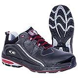 Cofra zapatos de seguridad Stoppie S3 SRC New grevinga 19120-001, la mitad de zapatos negro, Negro, 19120-001