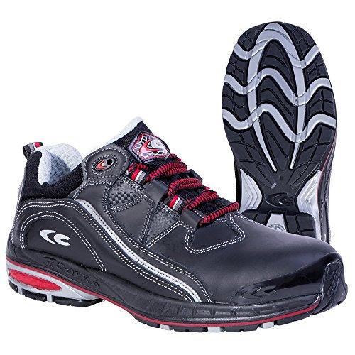 Cofra, 19120-001, Scarpe di sicurezza S3 SRC Stoppie Nuova jogging, scarpe da trekking, dimensione 43, nero