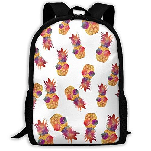 XCNGG NiYoung Travel Backpack Laptop Backpack Large Diaper Bag - Glasses Pineapple Backpack School Backpack for Women & Men