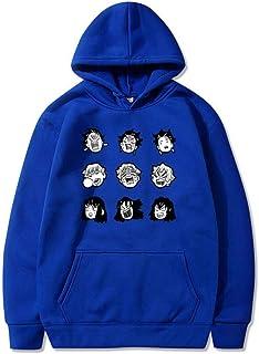 MU-PPX Men's and Women's FunnyPrint Hoodies Harajuku Pullover Sweatshirt