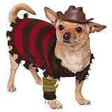 LANHSTORE Freddy Krueger Dog Costume Funny Halloween Pet Fancy Dress (M (Medium))