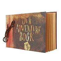 Our Adventure Book スクラップブック DIY フォトアルバム ハンドメイドアルバム スクラップブック 19626