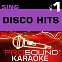 Sing Like Disco Hits Vol. 1 [KARAOKE]