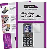 dipos I 6X Schutzfolie klar kompatibel mit Amplicomms PowerTel M6300 Folie Displayschutzfolie