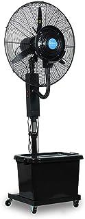 Jyfsa Mudo Grande Ventilador Industrial de fábrica Vibratorio Vertical Ventilador de Aire Frio Soplador Ventilador eléctrico, Swing Izquierda y Derecha Ventilador de nebulización