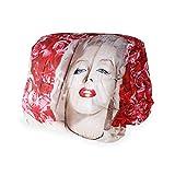 SaRani Trapunta Invernale Piumone Moderno Double Face Marilyn Monroe Rose Rosse