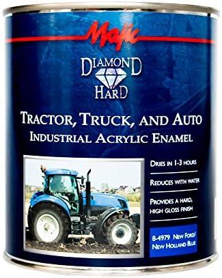 Tractor Maquinaria Pintura de Esmalte Brillo de Metal /& Zetor Verde 1ltr