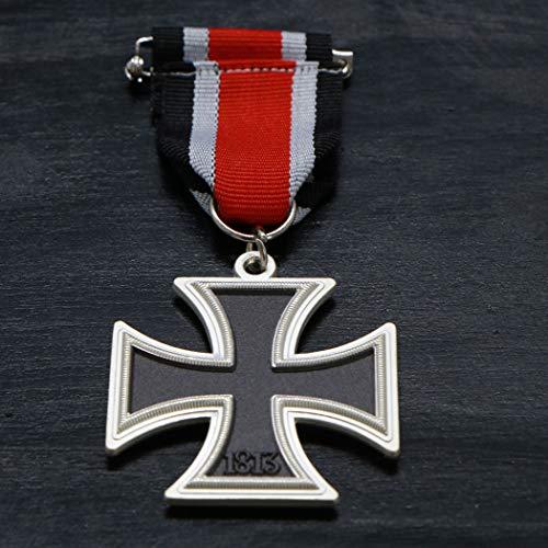 LSJTZ 1813, 1939, Preußen, Grad II Iron Cross, EK2, Medaille, Ruhm, Relief, Stereo, Abzeichen, Recht, Geschenk, 2pcs
