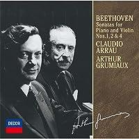 ベートーヴェン:ヴァイオリン・ソナタ第1番・第2番・第4番