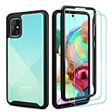 Case for Samsung Galaxy A71 4G, [360 Full Body Cover]: