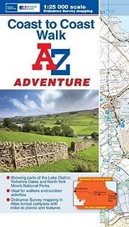 Coast to Coast Adventure Atlas 1:25K A-Z