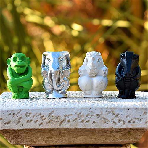 LaRetrotienda - JUMANJI figuras del juego de mesa para decoración. Gran tamaño 9,5 cm