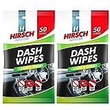 Hirsch - Toallitas de limpieza para coche, para pulido de rayones y arañazos, muy absorbentes (100 unidades)