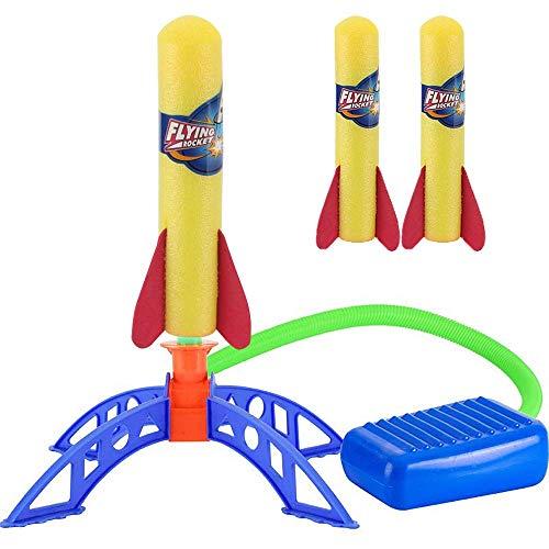 ZoneYan Cohete Juguete, Juguete Cohete de Aire, Cohete Juguete Lanzador, Juguete Lanzador de...