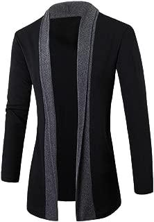 Fashion Casual Coat Jacket Outwear Men Cardigan Jacket Sweater Slim Long Sleeve