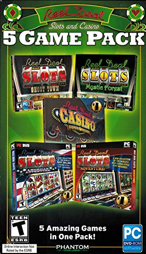 Reel Deal Slots and Casino 5 Game Pack