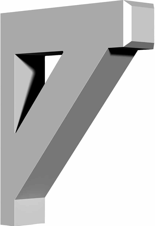 Ekena Millwork BKT16X20X04CL 4-Inch W x 16-Inch D x 20-Inch H Claremont Bracket
