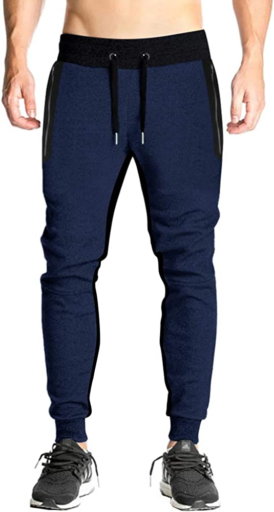 FASKUNOIE Men's free shipping Joggers Surprise price Slim Fit Swe Running Sports Cotton Pants