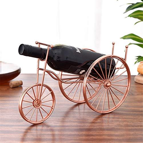 LY-JFSZ 1 Botella De Vino Bastidores Botelleros, Hierro Forjado Vino Vino Titular del Soporte De Exhibición Digna De Ser Expuesta En El Cocina, Comedor O Bar Área