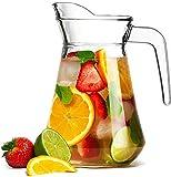 AJ Glass Jug, Drinking Water jug/jar, Drinking Beverage jug, Juice Glass jug
