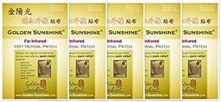 golden sunshine hot herbal patch