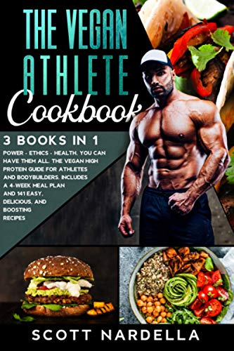 The Vegan Athlete Cookbook: 3 books in 1. Power - Ethics - Health. You can have them all. The Vegan High Protein Guide for Athletes and Bodybuilders. ... and 141 easy, delicious, and boosting recipes