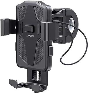 YESIDO C94 Mobile Bike Holder For Bike, Bicycle & Motorcycle 360° Rotation Easily Using Adjustable Anti Shake Holder Stand...