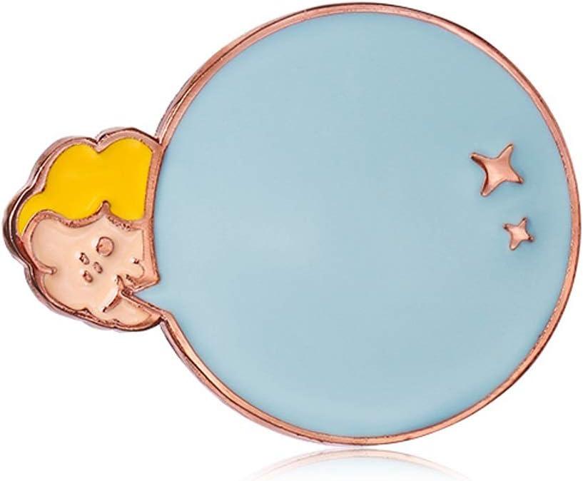 xuejuanshop Pins Quality inspection Brooch for Women Bubble Enamel Girl B Outstanding Cute