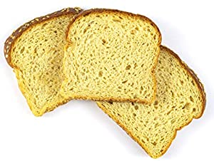 Sola Golden Wheat Bread – Low Carb, Low Calorie, Reduced Sugar, 5g Protein Per Slice – 14 OZ Loaf of Sandwich Bread (Pack of 3) #2