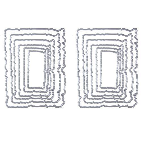 iSuperb 12 stuks sjablonen metaal deze scrapbooking kant achtergrond vormen carbon staal sheets snijden dit voor kinderen