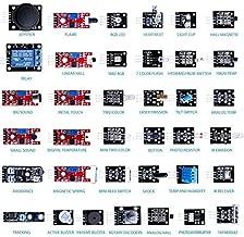 ABRA ELECT 37-in-1 Sensors Kit for Arduino