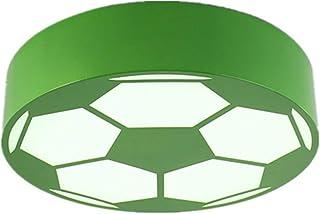 JJSFJH Allée de cuisine pour enfants créative LED, salle de jeu moderne d'accessoires de football (Couleur : Bleu, Taille...