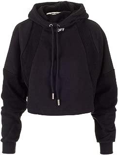 OFF-WHITE Luxury Fashion Womens OWBB034E19F300911001 Black Sweatshirt   Fall Winter 19