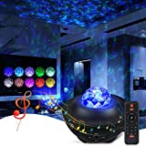 Galaxy Projector Star Projector Ocean Galaxy Projector with Remote Control Galaxy 360 Pro Projector Galaxy Light Projector with Bluetooth Speaker Night Light Projector for Baby Bedroom/Game Rooms/Home