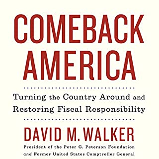 Comeback America audiobook cover art