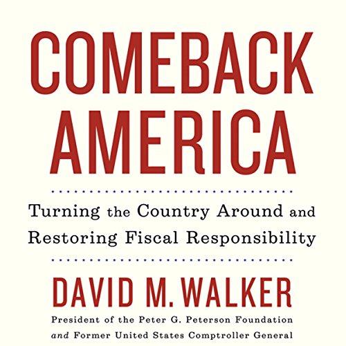 Comeback America audiobook cover art