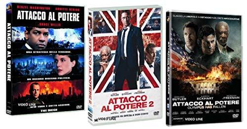 Attacco al Potere - Trilogia (3 Film DVD) Edizione Italiana