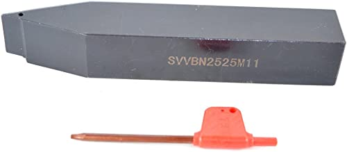 """wholesale 1PCS Shank Diameter new arrival 1"""" (2525 mm) SVVBN 2525M11 CNC Lathe discount Indexable Carbide Excircle Turning Tool Holder , Overall length 6"""" (150 mm) sale"""